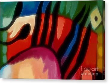 Hot Color Canvas Print - Hot Nights by Lutz Baar