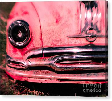 Hot Pink Wreck Canvas Print by Sonja Quintero