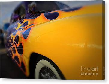 Hot Ride Canvas Print