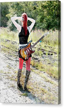 Hot Rocker Canvas Print