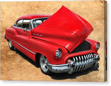 Hot Rod Buick Canvas Print