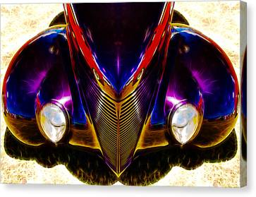 Hot Rod Eyes Canvas Print by motography aka Phil Clark
