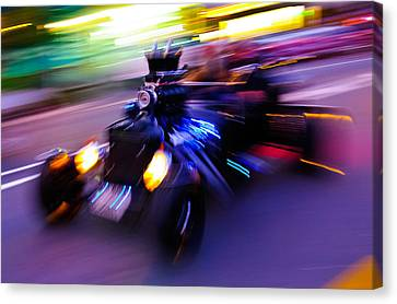 Hot Rod Warp Canvas Print