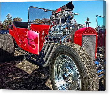 Hot  Rods Canvas Print