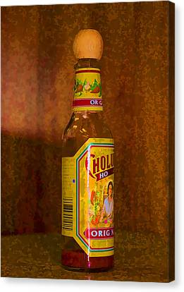 Hot Sauce Two Canvas Print