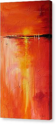 Hot Shot Canvas Print by Laura Lee Zanghetti