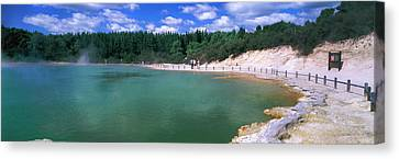 Hot Spring, Champagne Pool, Waiotapu Canvas Print by Panoramic Images