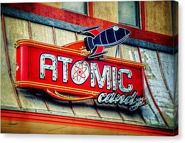 Atomic Canvas Print - Hot Stuff by Joan Carroll