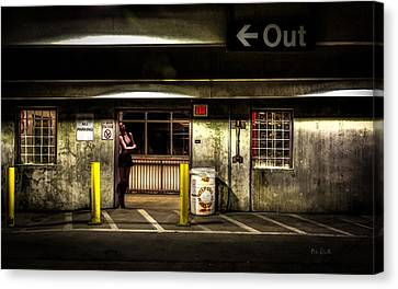 Hot Summer Night Out Canvas Print by Bob Orsillo