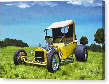 Hot Wheels Canvas Print
