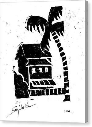 Hotel Canvas Print by Swafeha Khan