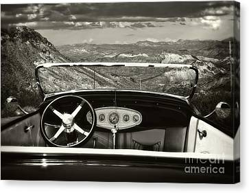 Hotrod Dream Canvas Print