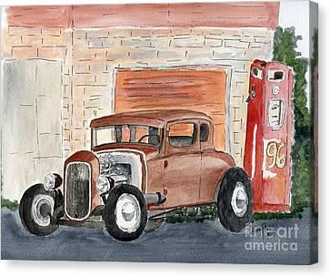Hotrod Canvas Print by Eva Ason