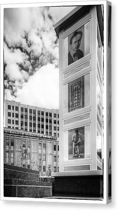 Houdini Plaza Canvas Print by Thomas Young