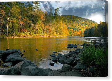 Housatonic River Canvas Print by Diana Angstadt