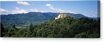 House At The Hilltop, Napa Valley Canvas Print