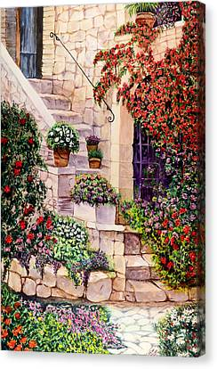 House In Oyster Bay Canvas Print by Sher Nasser