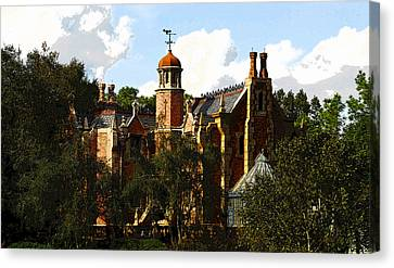 House Of 999 Ghosts Canvas Print by David Lee Thompson