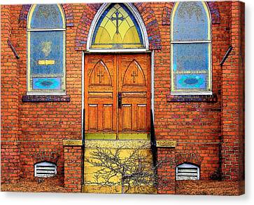 House Of God Canvas Print by Rodney Lee Williams
