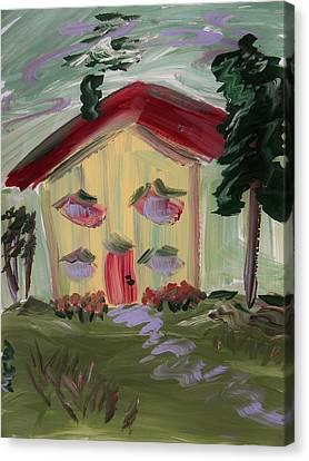 House Of Hugs 2 Canvas Print by Mary Carol Williams