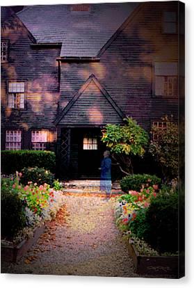 House Of Seven Gables Canvas Print