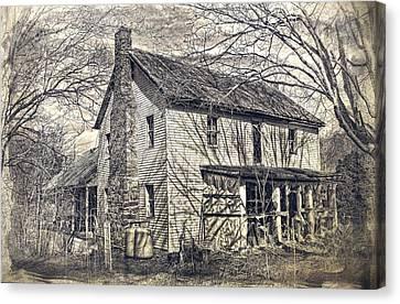 House Of Shadows Canvas Print