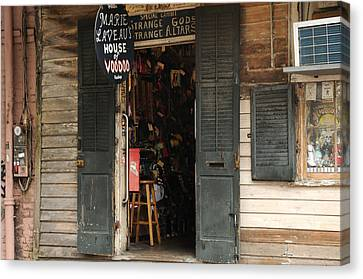 House Of Voodoo Canvas Print by Bradford Martin