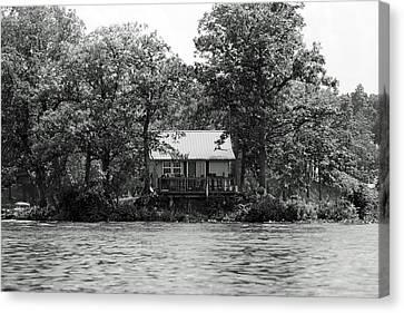 House On An Island Canvas Print by Thomas Fouch