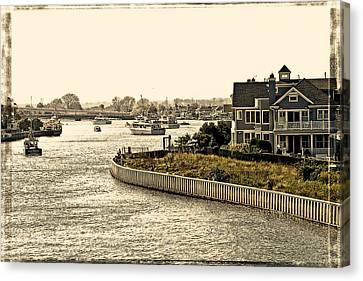House On The Bay Canvas Print