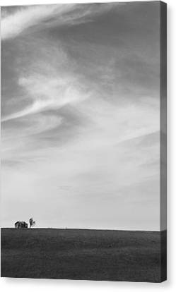 House On The Hill 2 Canvas Print by Mike McGlothlen