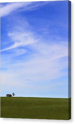 House On The Hill Canvas Print by Mike McGlothlen