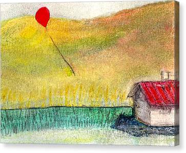 Houseballoon Canvas Print by James Raynor