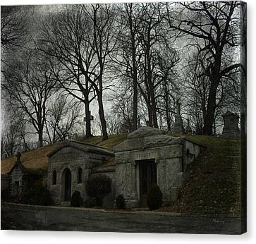 Houses Of The Holy Canvas Print