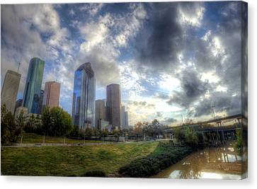 Houston Canvas Print by Micah Goff