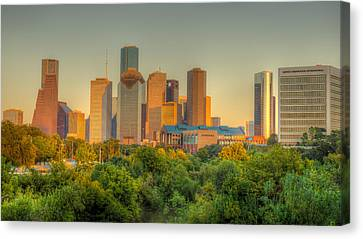 Houston Skyline Canvas Print