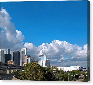 Houston Skyline Southeast Canvas Print