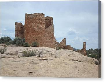 Hovenweap Castle Ruins Canvas Print by Susan Woodward