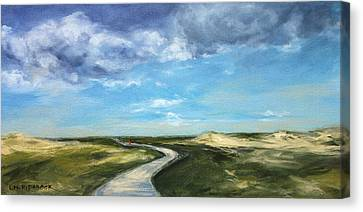 How Far You Can Go Canvas Print by Lisa H Ridabock