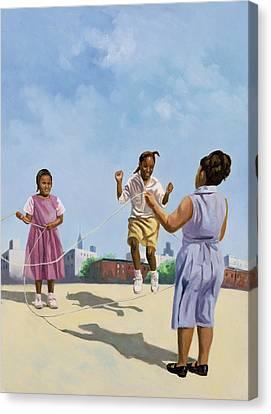Black Artist Canvas Print - How High by Colin Bootman