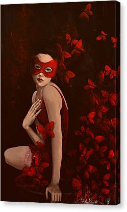 How Long Do Butterflies Live Canvas Print by Dorina  Costras