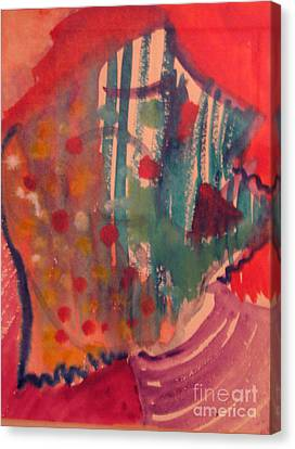 How Much I Loved You Original Contemporary Modern Abstract Art Painting Canvas Print by RjFxx at beautifullart com