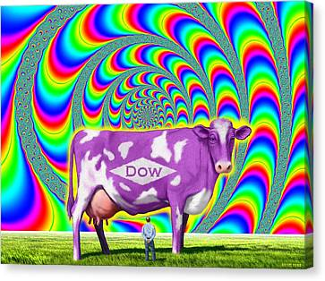 How Now Dow Cow? Canvas Print by Scott Ross