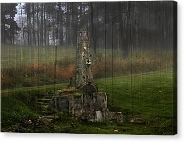 Howard Chandler Christy Ruins Canvas Print