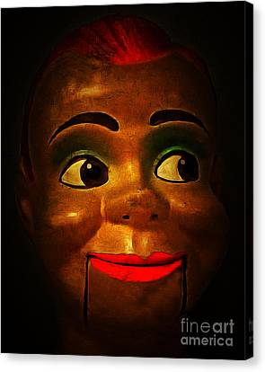 Horror Movies Canvas Print - Howdy 20150102 by Wingsdomain Art and Photography