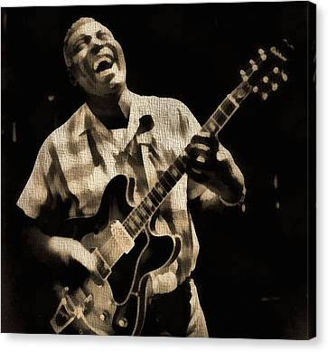 Howlin' Wolf Canvas Print by Dan Sproul
