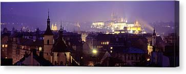 Hradcany Castle, Prague, Czech Republic Canvas Print by Panoramic Images