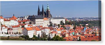 Hradcany Castle With St. Vitus Canvas Print by Panoramic Images