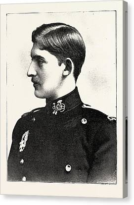 H.r.h. Prince Ferdinand Of Romania Canvas Print