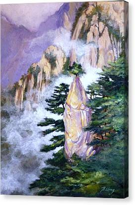 Huangshan Magnificence Canvas Print