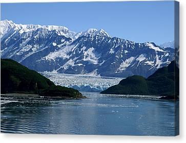 Hubbard Glacier Canvas Print by Barbara Stellwagen